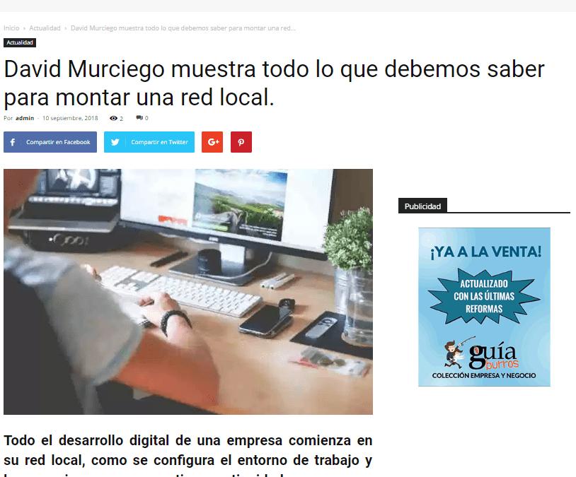 Colaborum, medio especializado en economía colaborativa, trata los principales aspectos del GuíaBurros: Redes Locales
