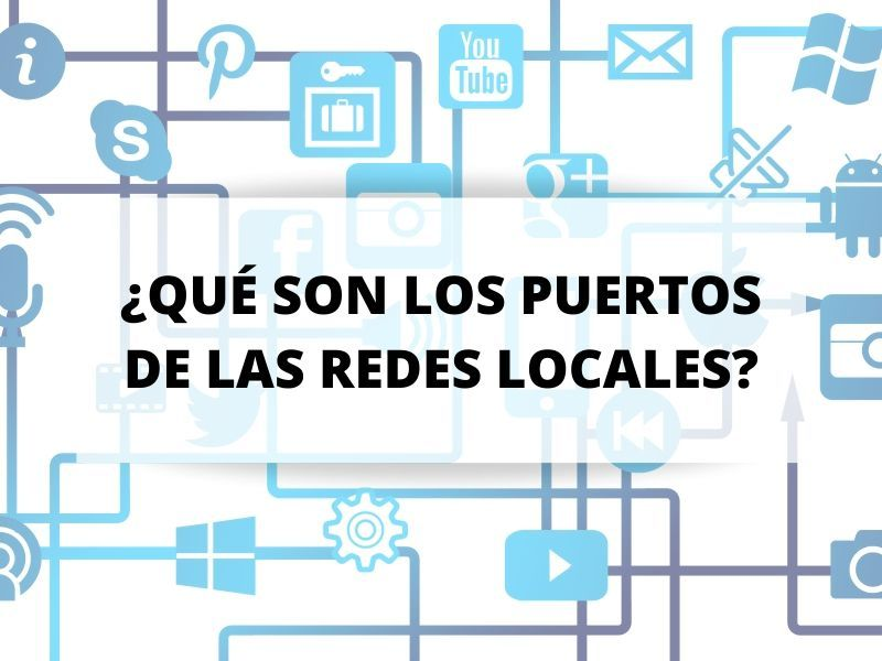 ¿Qué son los puertos que nos permiten comunicarnos?